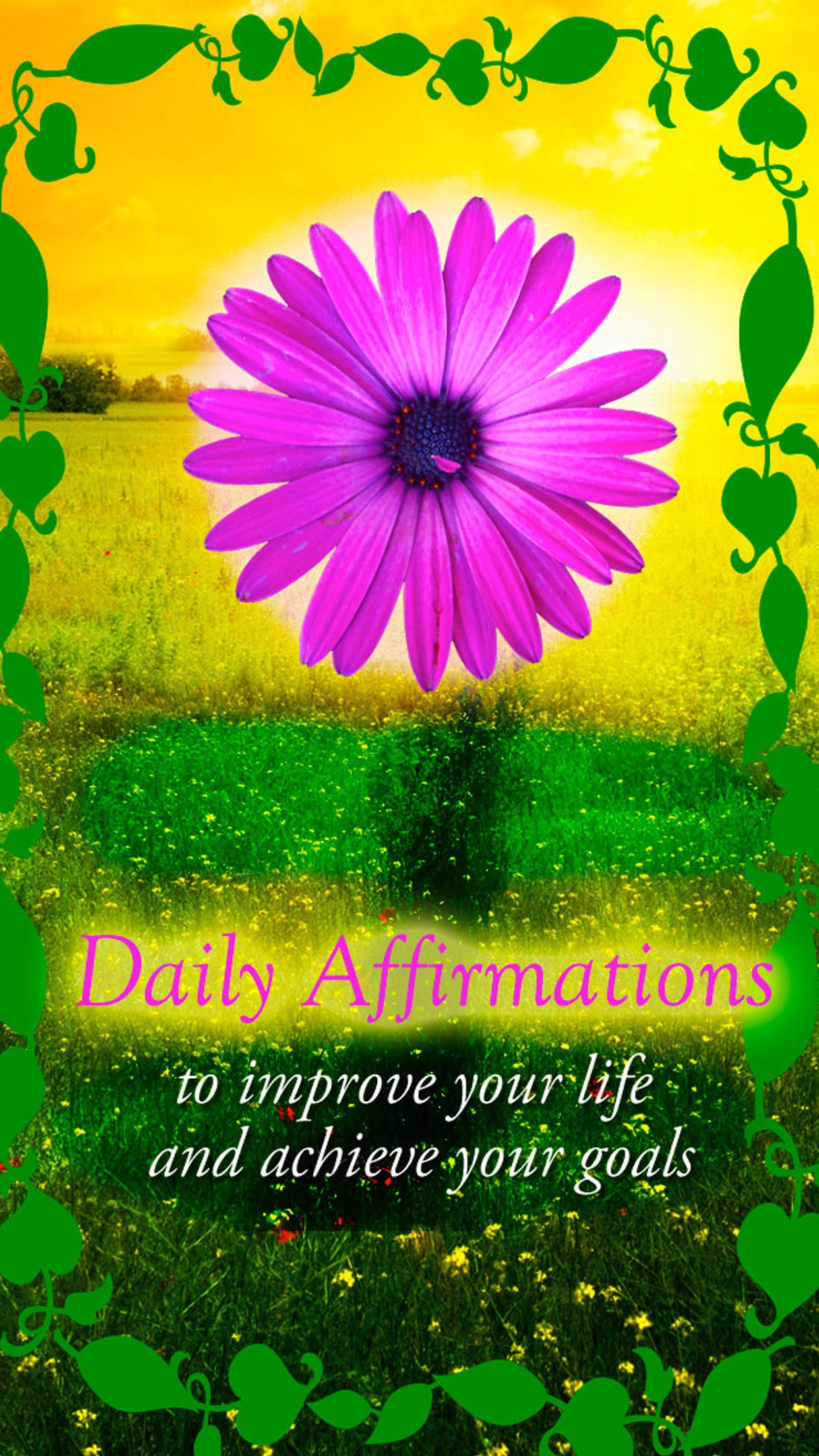 Affirmations - Daily Affirmations To Improve Your Life Screenshot