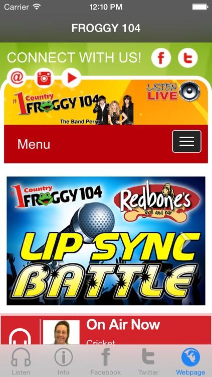 Froggy 104 FM screenshot-3