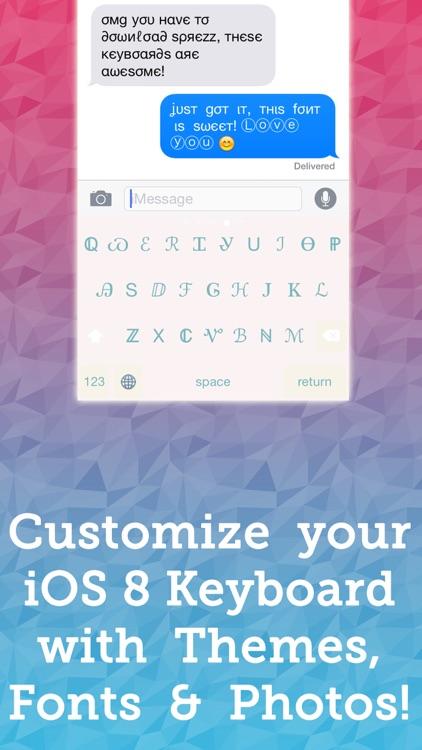 Sprezz - Custom Keyboard Themes and Fonts