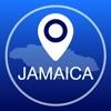 ジャマイカオフライン地図+シティガイドナビゲーター、アトラクションとトランスポート