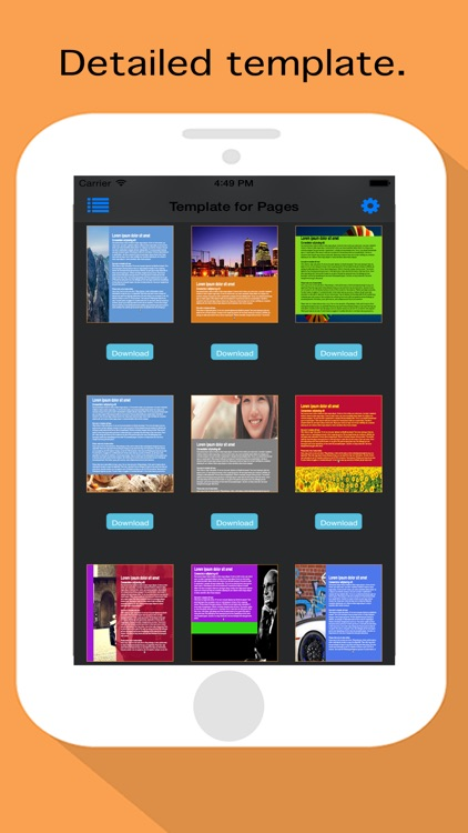 Template Set for Pages screenshot-4