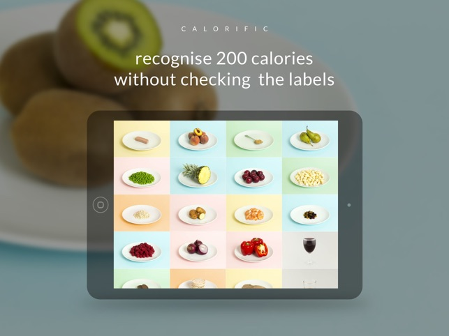 Calorific - What do calories look like? Screenshot