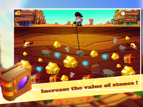 Crazy Gold Miner HD Edition Classic-ipad-4