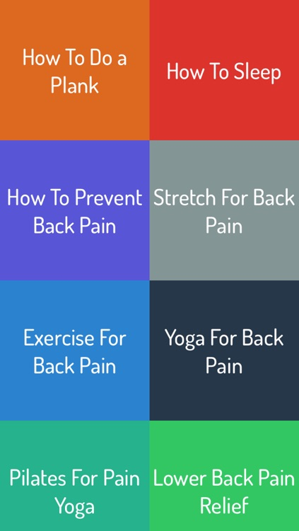 How To Relieve Back Pain screenshot-0