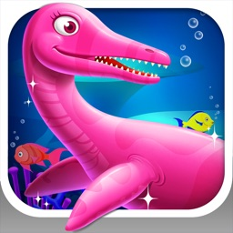 Dinosaur Park 3: Sea Monster - Fossil dig & discovery dinosaur games for kids in jurassic park
