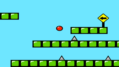 Red Bouncing Ball Spikes Free-1