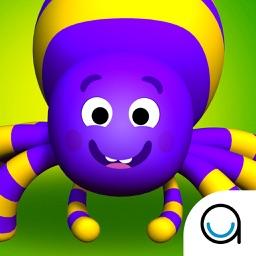 Itsy Bitsy Spider: 3D Interactive Story Book For Children in Preschool to Kindergarten