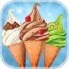 アイスクリーム – 無料ゲーム – フレーバーとトッピングのホストを使用して独自の甘いアイスクリームコーンを作る