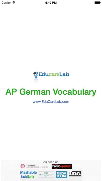 AP German Vocabulary