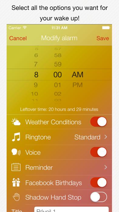 Genius Alarm- Weather Smart Alarm Clock, Set up wake-up alarms according to the weather forecast!のおすすめ画像3