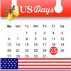 米国の祝日 - 米国の毎年のための公式の休日