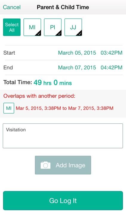 TheGoLog - Child Custody & Child Support Tracker App For Single Parents