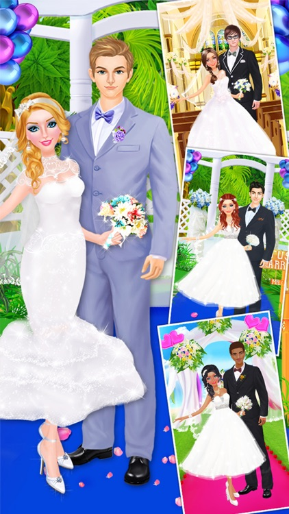 Wedding Day Makeover with Bride & Groom! screenshot-4