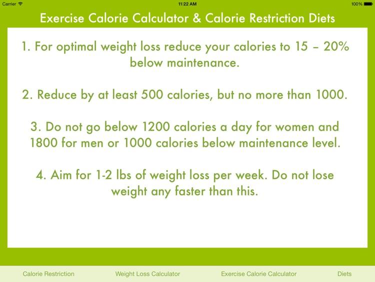 Exercise Calories Calculator screenshot-3