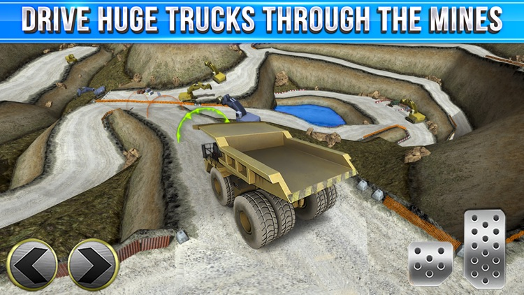 Quarry Driver Parking Game - Real Mining Monster Truck Car Driving Test Park Sim Racing Games screenshot-2
