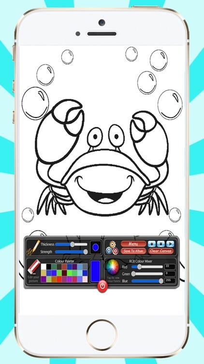 100 Sea Animals To Paint screenshot-3
