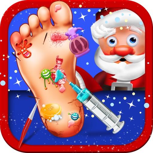 A Santa's Foot Spa Salon - Little Doctor Saves the Christmas Presents 2015