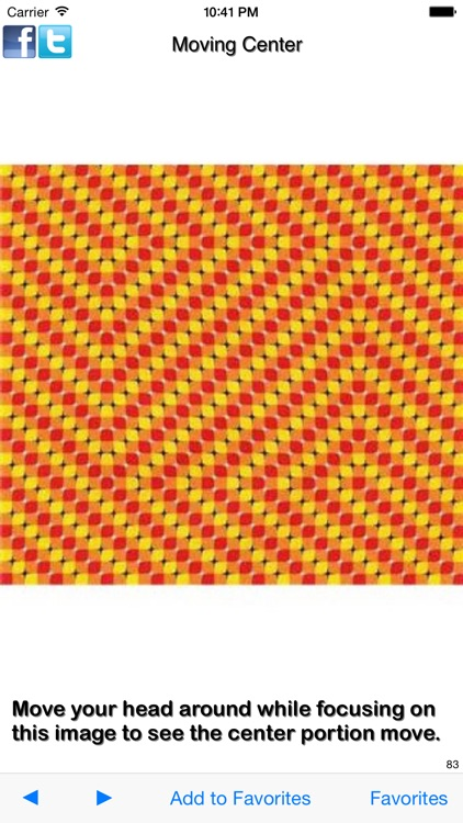 Optical Illusions - Images That Will Tease Your Brain screenshot-0