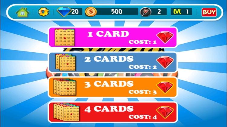 Classic 4 bingo chemin de table casino
