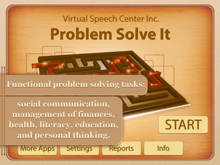 Problem Solve It