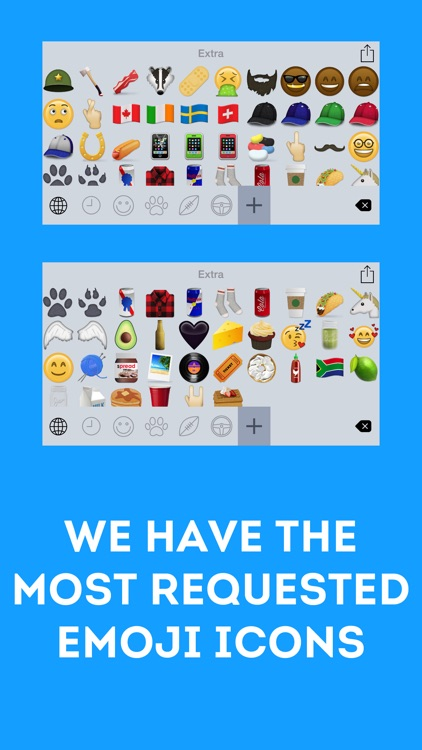Extra Emoji Icons screenshot-2