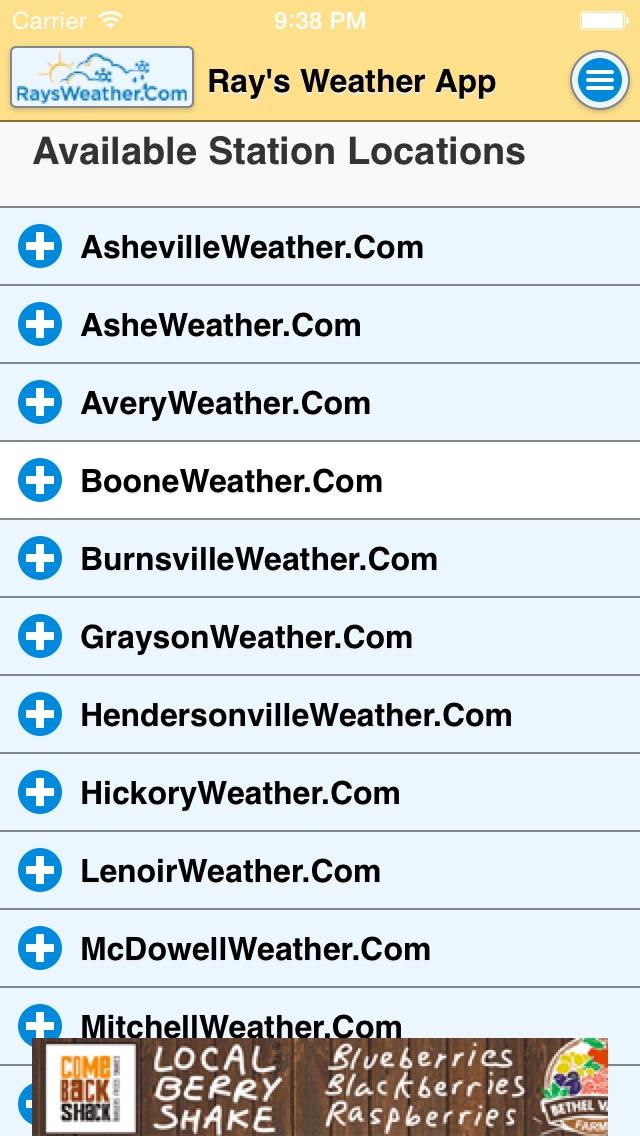 Raysweathercom App review screenshots