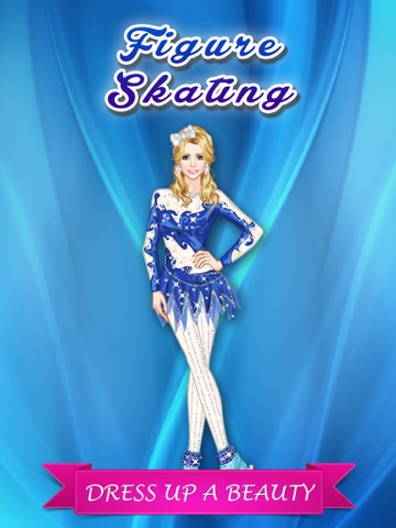 フィギュア スケート ガール変身 - かわいいファッションの女の子、メイクアップとプリンセスのゲームを愛する子供たちのゲームをドレスアップします。のおすすめ画像1