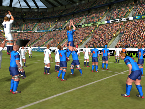 Rugby Nations 15 на iPad
