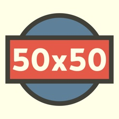 50x50 on the app store