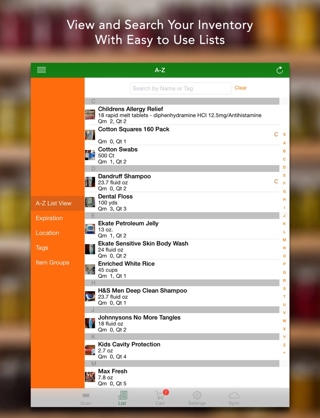 pantry inventory software