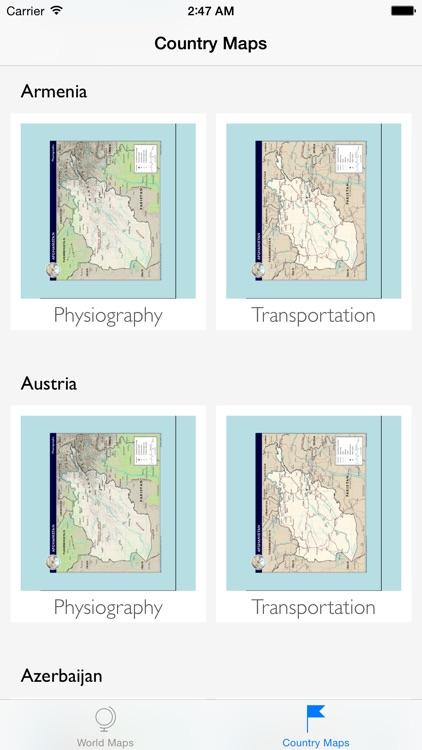 World Maps — The Whole World Atlas Offline