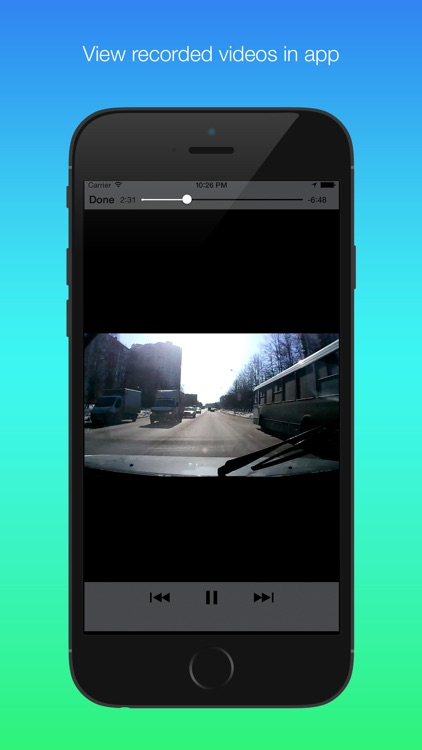 Auto DVR - Full featured car video recorder screenshot-3