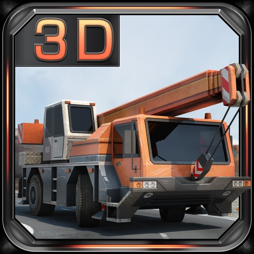 Construction Crane 3D Parking - Realistic Driving Simulator iOS App