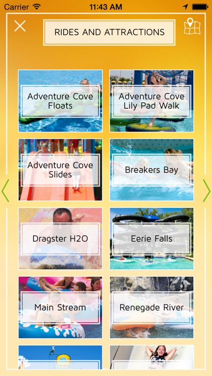 Cedar Point - Offline Amusement Park Guide and Map