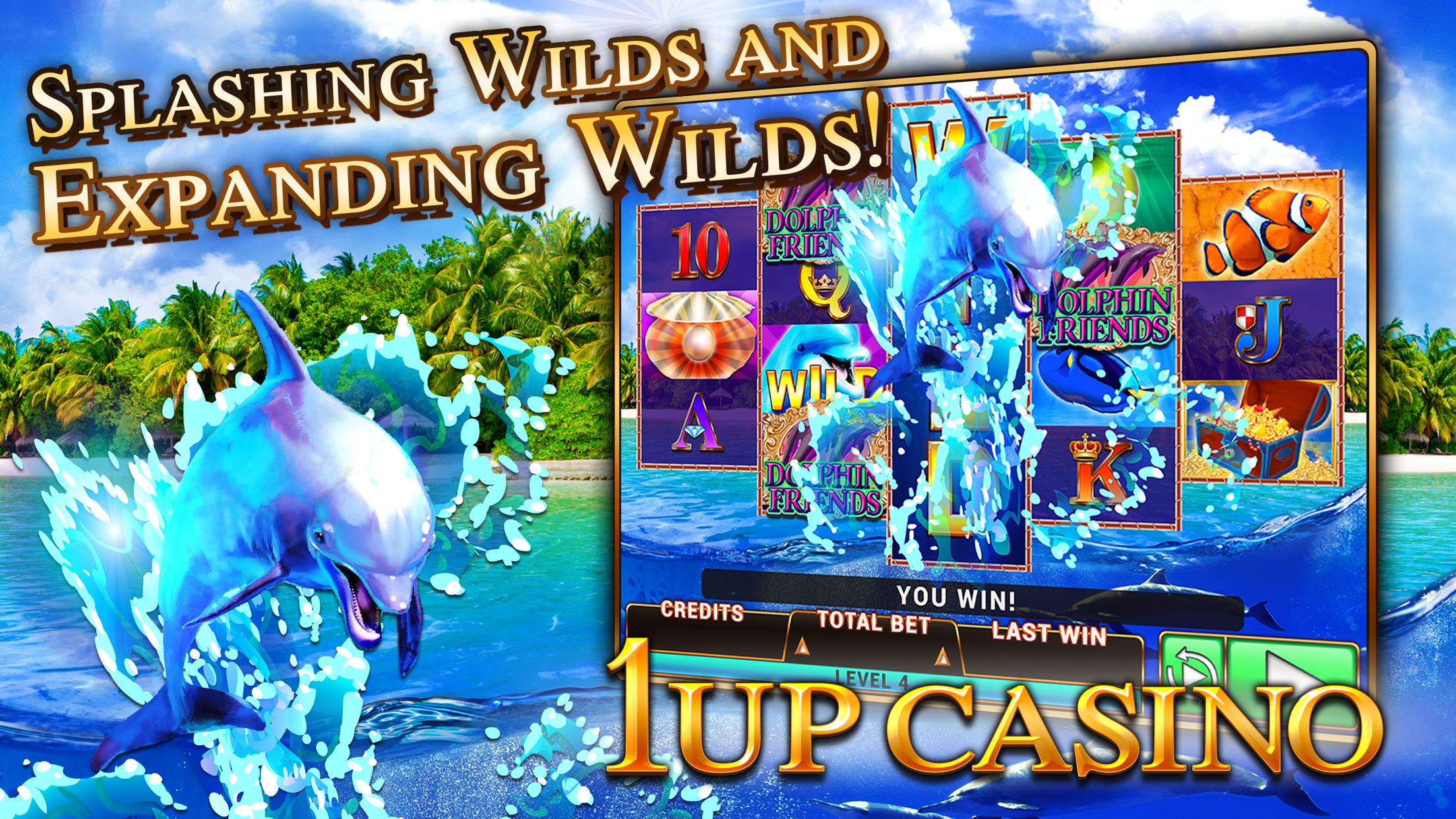 Slot Machines - 1Up Casino - Best New Free Slots Screenshot