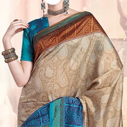 Beautiful Saree Photo Montage