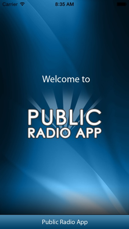 Public Radio App screenshot-0