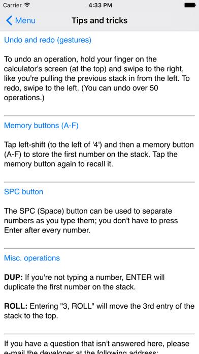 RPN Calculator 48 by Tom Kerrigan (iOS, United States