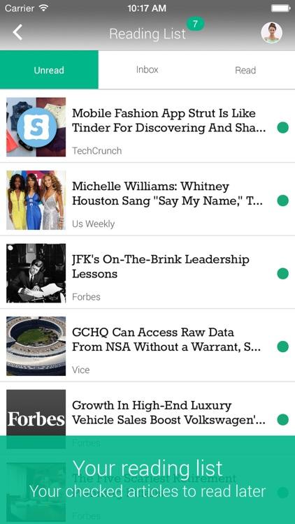 Shuffle News screenshot-3