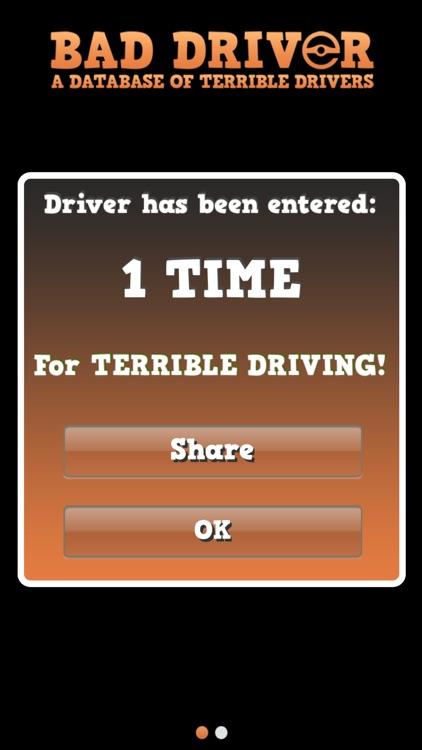 Bad Driver Database screenshot-3