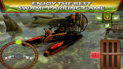 Swamp Boat 3D River Sports Fast Parking Race Game screenshot four