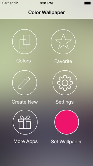 Color Wallpaper - Solid Backgrounds For iPhone And iPad on