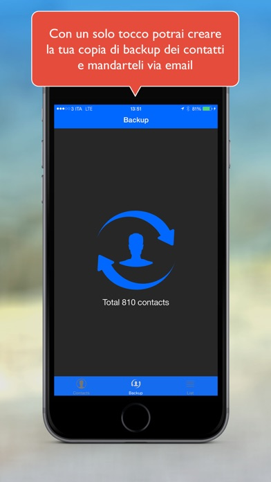 Simple Backup Contacts Pro Screenshots