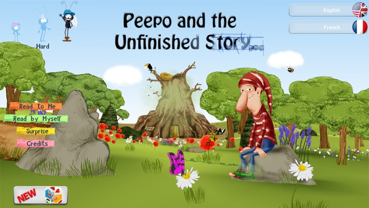 Peepo and the Unfinished Story - Free screenshot-0