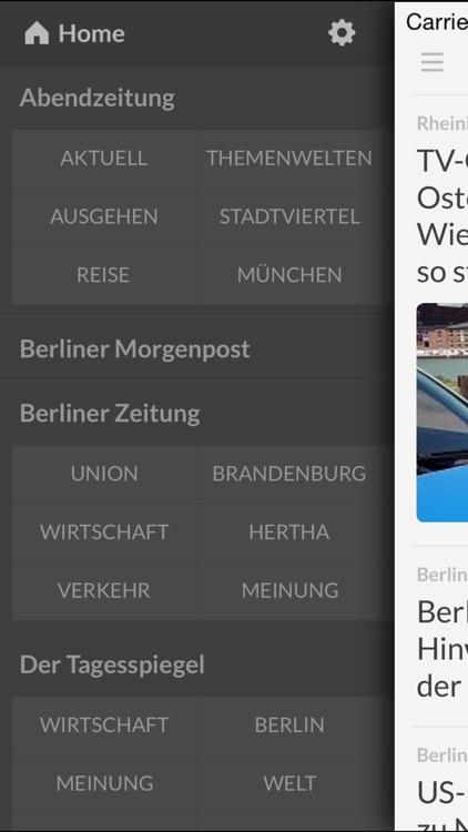 Zeitungen DE - Die wichtigsten Zeitungen in Deutschland