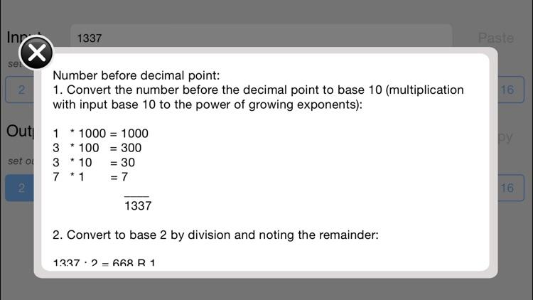 Universal Base Converter (Explanatory)