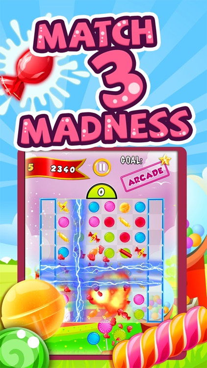 Candy Feast - fruit jam in match-3 mania game free