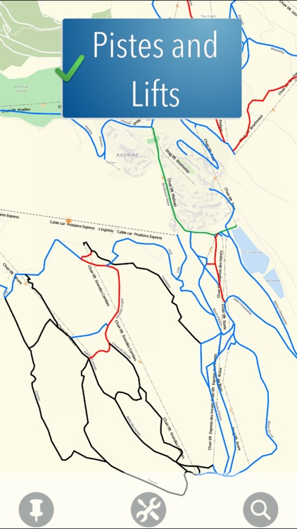 Portes du Soleil Ski Map screenshot-1
