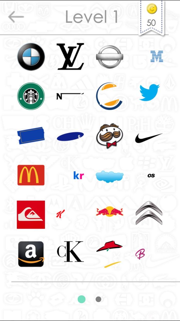 Logos Quiz - Guess the logos! Screenshot