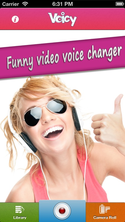 Voicy Helium Voice Change.r & Record.er - Transform.er your video.s into fun.ny chipmunk effect.s